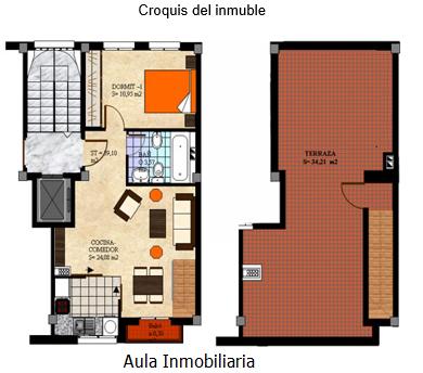 Las terrazas de los pisos
